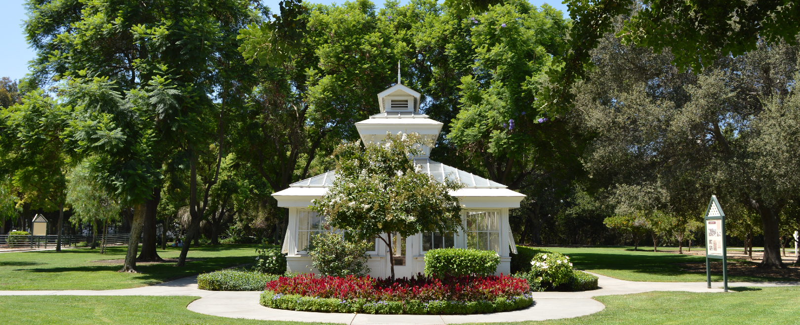 Santa fe springs ca heritage park - The garden place at heritage park ...