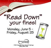 """Read Down"" Your Fines"